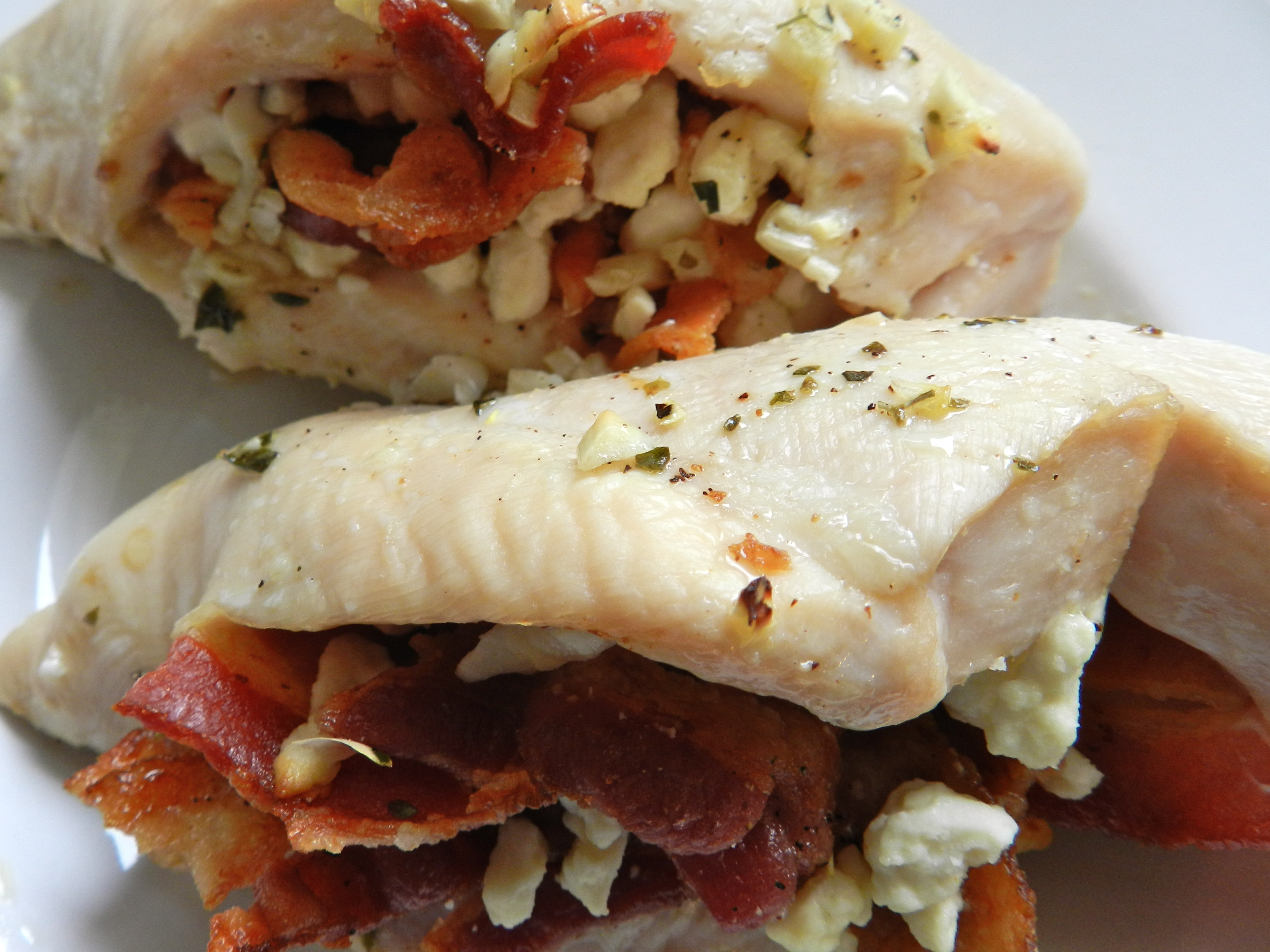 feta bacon stuffed chicken breasts makes 3 breasts