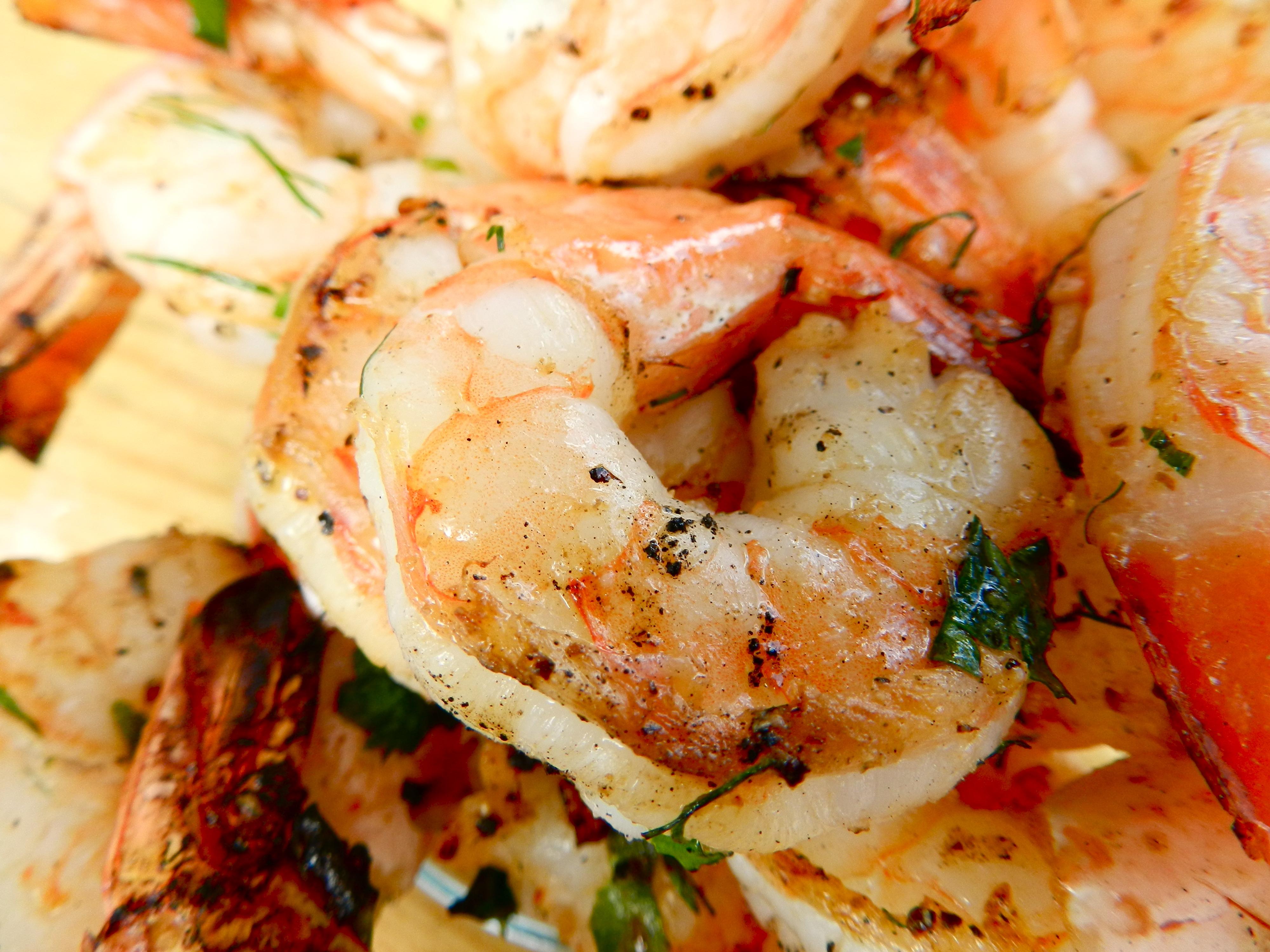 Spicy Shrimp Marinade | Rachel Schultz