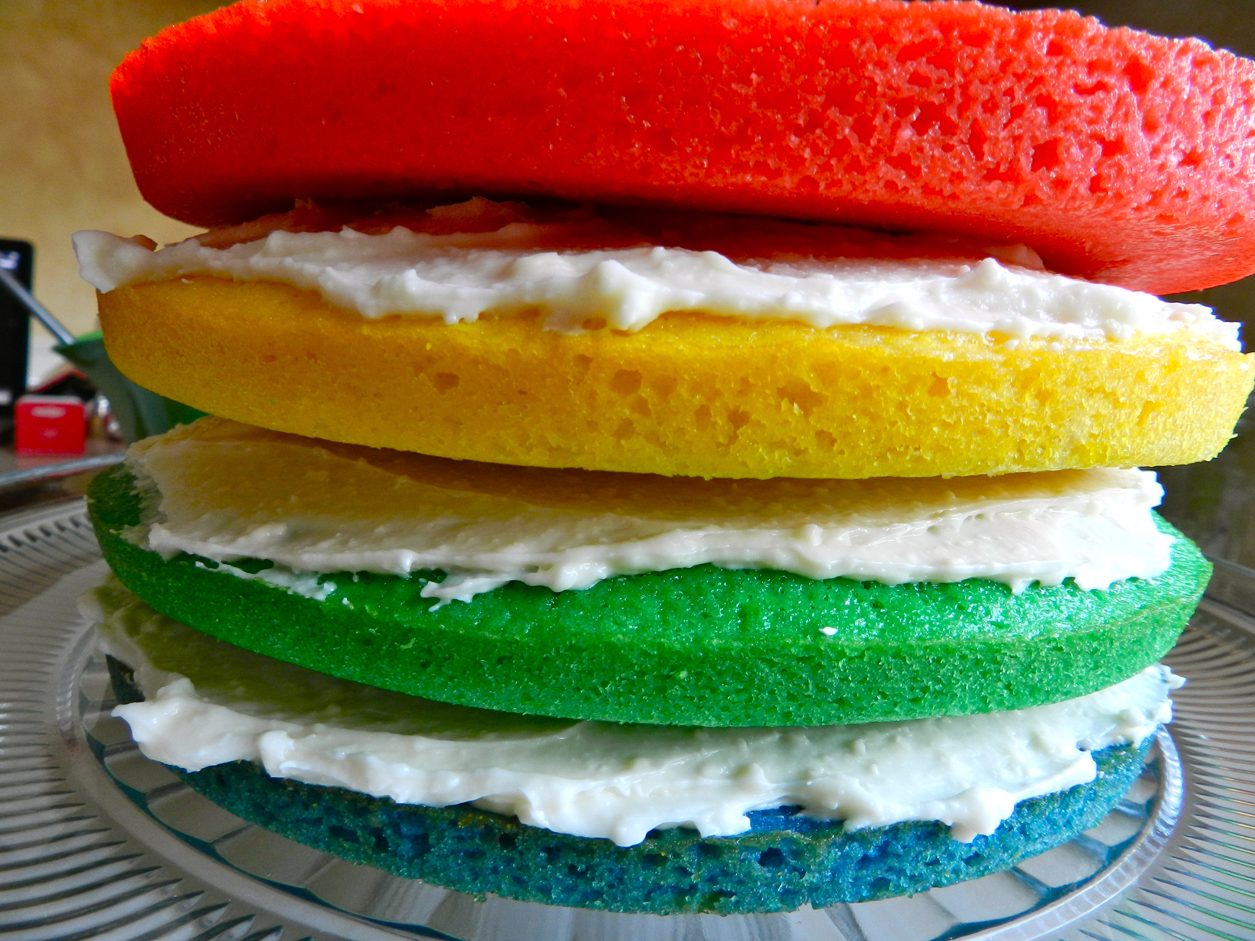 Cake Recipes Rainbow: Rachel Schultz