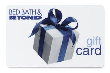 Winner 25 Bed Bath Beyond Gift Card Rachel Schultz