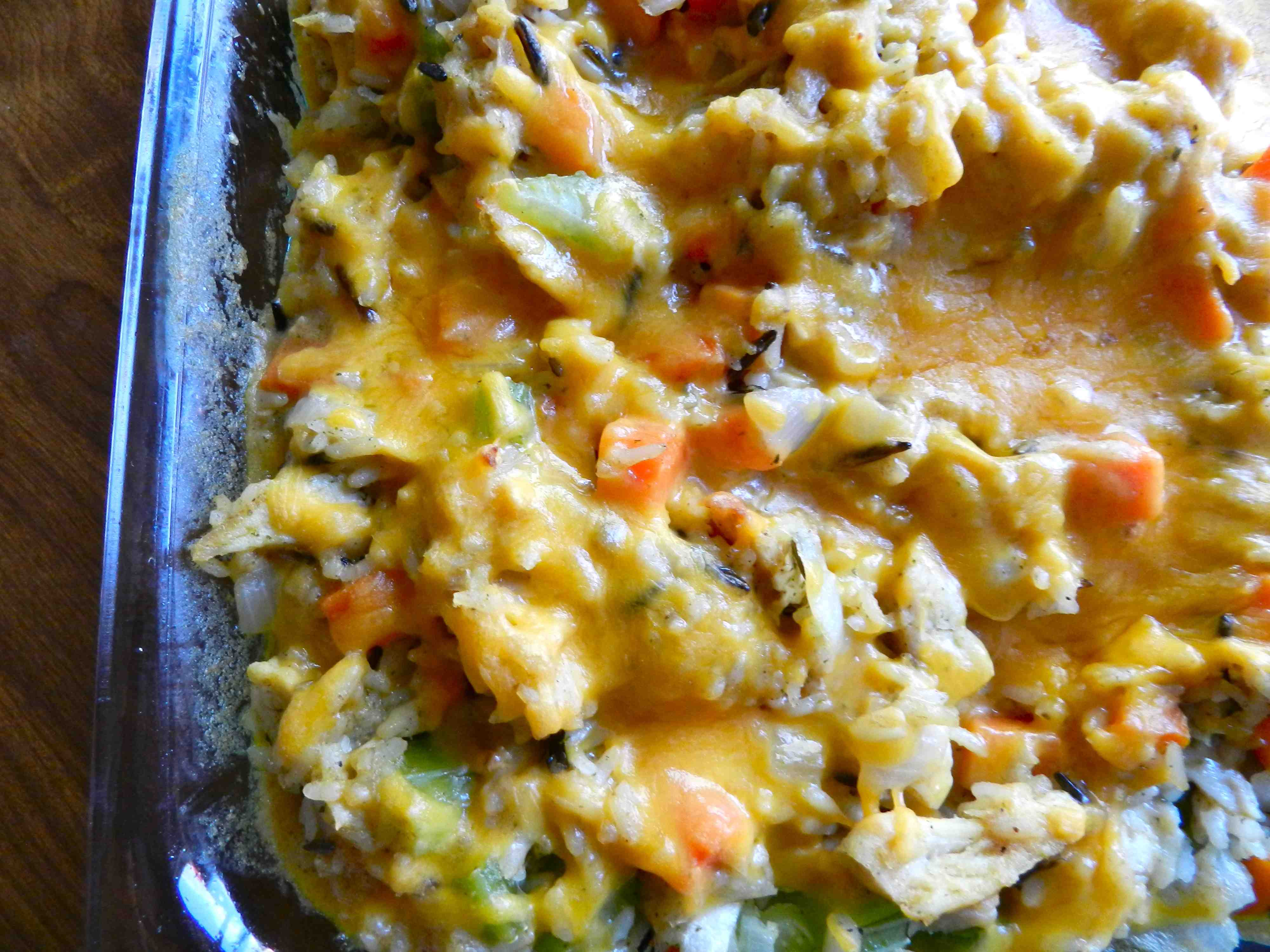 Chicken And Wild Rice Casserole Recipe — Dishmaps